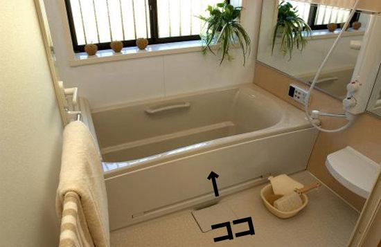 浴槽エプロン