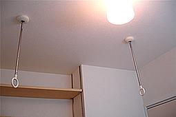 室内干しに困ったらスポット型「ホスクリーン」がおススメ
