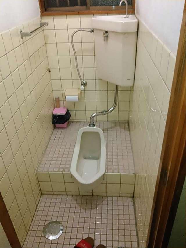 トイレ「和式便器」から「洋式便器」へ交換