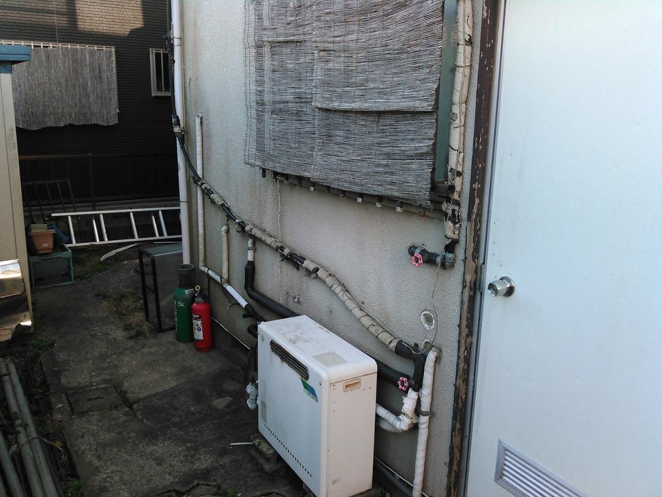 ノーリツGT-2010RからパロマFH-E207AWLへ給湯器交換!
