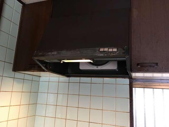 キッチン換気扇クリーニングしてみた!