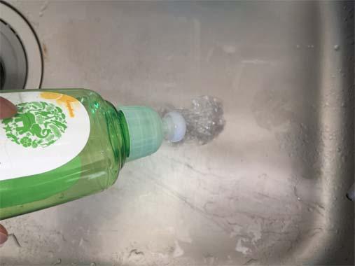 水まわり清掃に使い終わったサランラップでエコ掃除!
