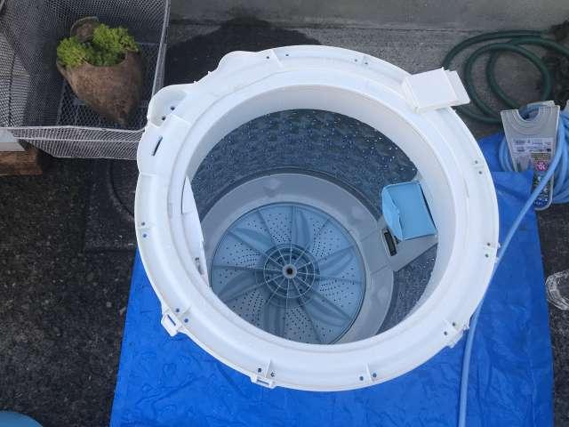 洗濯機の中!見えないカビにご注意ください!