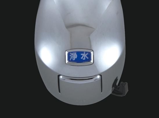 TAKAGI製(JL206MN-9NY2)蛇口一体型浄水器ワンホールタイプキッチン水栓へ交換