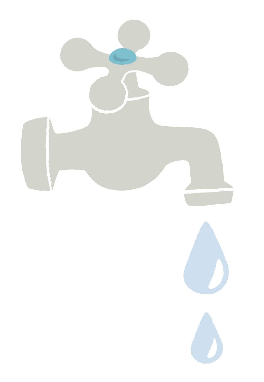 水道管の凍結・破裂に注意!
