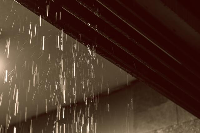 梅雨前に点検と対策を!