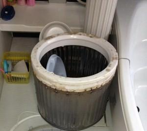 洗濯槽汚れ②